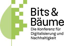 Logo: Bits & Bäume - Die Konferenz für Digitalisierung und Nachhaltigkeit