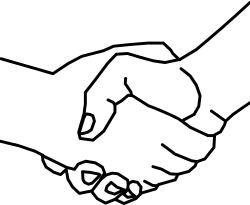 Handschlag - Kooperationen